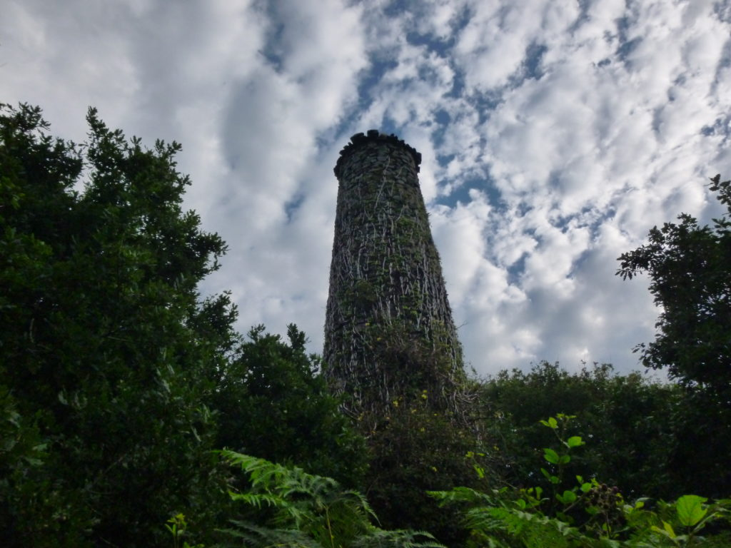 Old Tin Mine Chimney